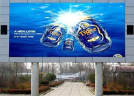 IP67 P16 Outdoor Full Color LED Display Road Side With High Contrast Energy Saving