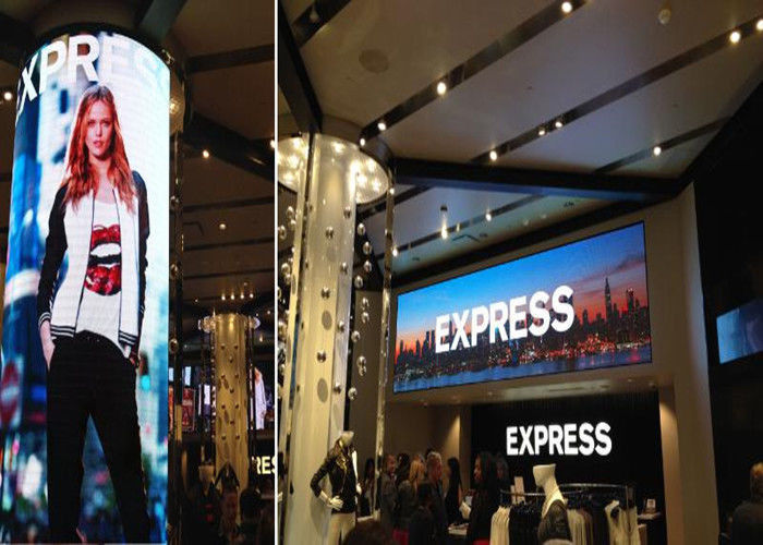 Fashion Show Indoor Led Display Board Full Color With Width Viewing Angle